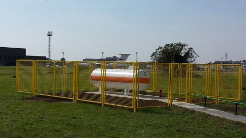 Vatreni ZID - simulator za obuku vatrogasaca